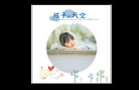 经典回忆录#-8x8印刷单面水晶照片书21P
