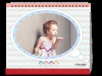宝贝的成长故事(封面图片可替换)-10寸照片台历