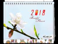 公子轩设计-高清花卉合集一-月月有不同-页页都精彩-不放照片也能成画-实拍最佳选择-8寸单面印刷台历