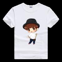 卡通han男款莫代尔T恤