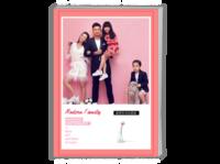 【时光记忆,我们的全家福】(图文可换)-A4时尚杂志册(26p)