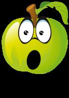 欢乐苹果表情秀5高档彩色t恤图片