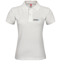 幸运数字7polo衫,蓝色经典简洁大方,公司制服,团队制服,团结就是力量,女-女款纯色POLO衫
