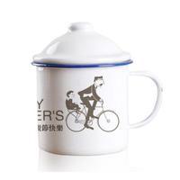 父亲的单车-大号搪瓷杯