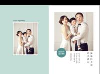 【留住美好的时光,留住我们的美好,我爱你们,我的家人】(图文可换)-硬壳精装照片书22p