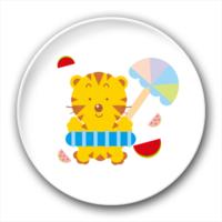 可爱的小老虎-3.2个性徽章