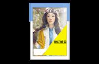 我的时尚(封面及内页图片可替换)-8x12印刷单面水晶照片书20p