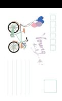 青春单车-18张全景明信片(竖款)