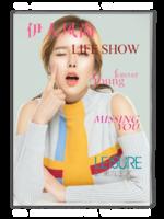 时尚杂志写真-A4杂志册(40P)