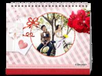 爱情礼物情人节-我们的美好生活-幸福时光-10寸照片台历