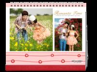 浪漫时刻 温馨浪漫爱情 欧美风Feb17最美浪漫爱情 爱是给自己最后的礼物-10寸双面跨年台历