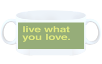 live what you love-白杯