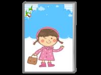 小女孩-A4时尚杂志册