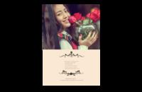 花季少女-8x12印刷单面水晶照片书20p