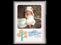 宝宝成长纪念册-A4骑马钉画册