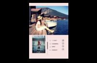 旅行日记-8x12印刷单面水晶照片书20p