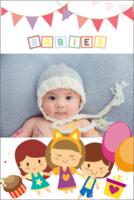 温馨的家庭-可爱宝贝#-8x12双面水晶银盐照片书30p