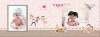 全家福   幸福家庭-母版8x12横款杂志册34p