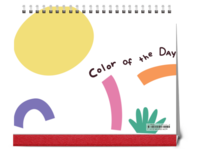 color of the day 彩色时光-10寸照片台历