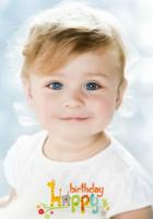生日快乐(图片可换、装饰可移动)-B2单面竖款印刷海报