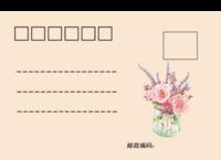 花语-正方留白明信片(横款)套装