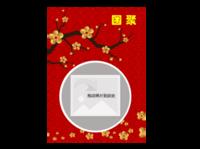 团聚时刻 春节 全家福 喜庆照片书-A4杂志册(24p)  亮膜
