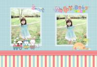 我的故事-宝宝相册-A4时尚杂志册(24p)