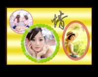 节日礼物(亲情、爱情、友情……)-12X8寸横式木版画