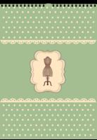 【慢生活】感受时光温度の公主风轻复古缝纫元素-A3双月挂历