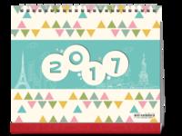 心情手绘-记录365天的幸福点滴(全家福、闺蜜、恋人、朋友试用版)-10寸双面跨年台历