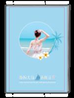 面朝大海 春暖花开-海景写真、结婚照、夏日旅行纪念册-A4杂志册(32P)