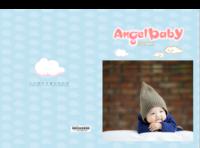 天使宝贝纪念册-8x12对裱特种纸22p套装