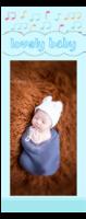 原创 宝贝照片书签 永恒珍藏lovely baby(boy蓝色款)-定制单面书签