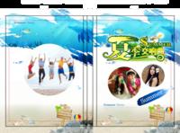 夏季交响曲—夏日旅游  夏季美好时光 时尚潮流纪念册-硬壳精装照片书20p