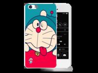 可爱/可爱蓝胖子/苹果5手机壳