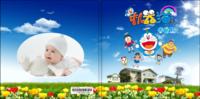 机器猫哆啦A梦和大雄的故事-亲子 动漫 甜美 萌 青春-8x8轻装文艺照片书40p