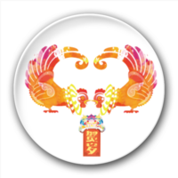 贺岁鸡-5.8个性徽章