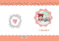 小BABY#-8X12锁线硬壳精装照片书24p