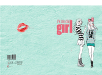 fashion  girl-A4硬壳精装照片书30p