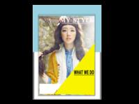 我的风格(封面封底图片可替换)-A4杂志册(24p) 亮膜