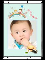 快乐的童年-A4杂志册(40P)