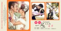 我们一起走过的日子 婚礼恋爱写真婚庆现代欧式韩式-方8寸梦幻星萃硬壳照片书30p