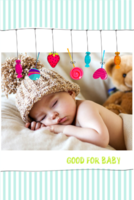 GOOD FOR BABY-8x12双面水晶印刷照片书20p
