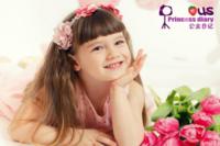 公主日记(图片可换)女宝宝女生专用-24寸横式海报