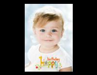 生日快乐(图片可换、装饰可移动)-14寸木版画竖款