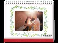 喜欢你,你是我唯一的阳光-韩版小清新-8寸双面印刷跨年台历