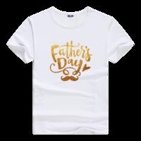 父亲节快乐母版-男款莫代尔T恤