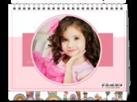 可爱甜美系-家里的小公主-8寸双面印刷台历