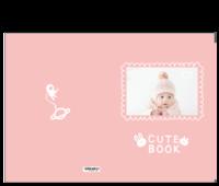 小兔子乖乖可爱书-15寸硬壳蝴蝶装照片书32p