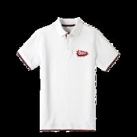 国外 t恤图案 潮流图案 潮流设计图片-双拼POLO衫